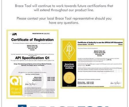 API Certified