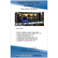 Collet Pulling Tool Lot #15 For Sale!