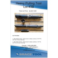 Heavy Pulling Tool Lot #3B For Sale!