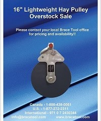 Hay Pulley Overstock Sale