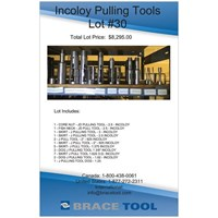 Incoloy Pulling Tool Lot For Sale!
