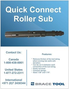 Quick Connect Roller Sub