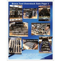 Overstock Tool Sales Flyer Page 1