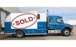 SOLD-Single Axel Slickline Truck
