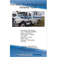 For Sale - Immaculate 2007 E-Line Wireline Truck