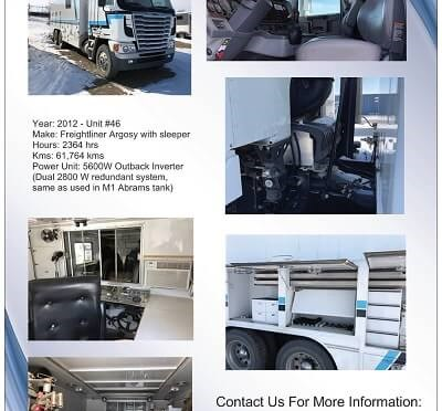 For Sale - Fishing Truck with Slickline & Cable