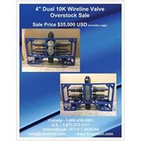 Wireline Valve Overstock Sale