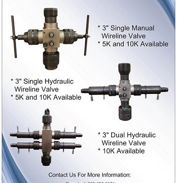 Year End Wireline Valve Sale - Further Discounts